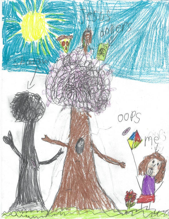 <p><em>Original Tree</em> by Alessandra D., 1st grade, St. Mary Interparochial School</p>
