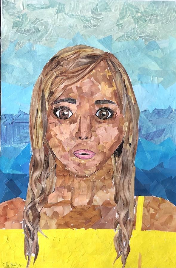 <p><em>Pieces</em> by Ella B., 8th grade, the Benjamin School, FL</p>