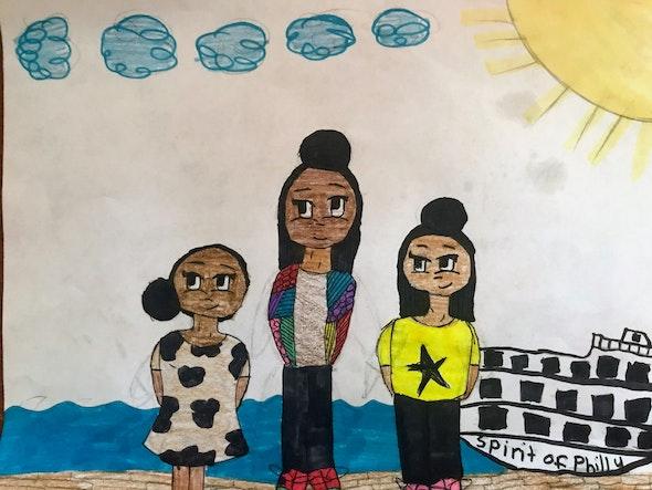 <p><em>Mother's Day</em> by Nuri T., 5th grade, West Oak Lane Charter School</p>