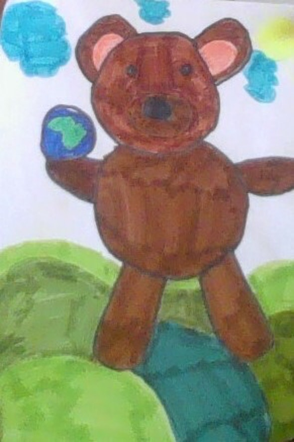 <p><em>The Strong Bear </em>by Jayla, 3rd grade, Marie Hughes Elementary School</p>