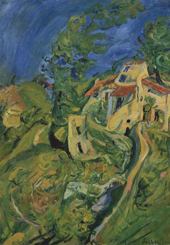 <p>Chaïm Soutine. <em>Landscape</em>, c. 1922–24</p>