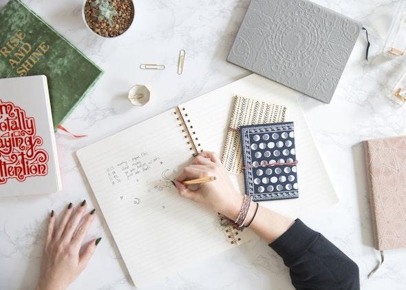 Notebooks by Printfresh Studio.