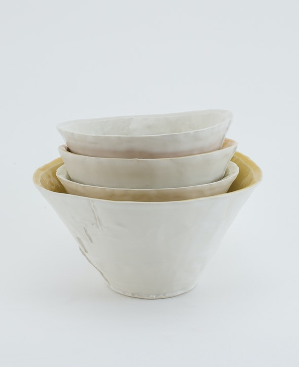 Bowls by Roberta Massuch Ceramics.