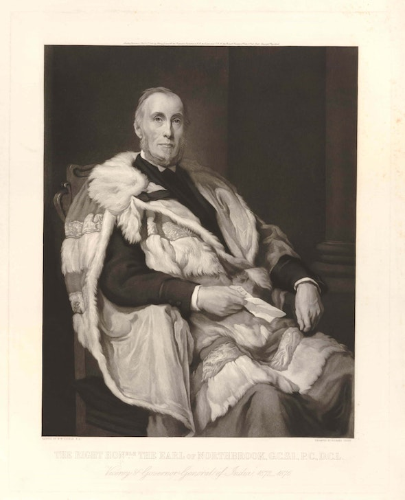 Thomas George Baring, the Earl of Northbook.