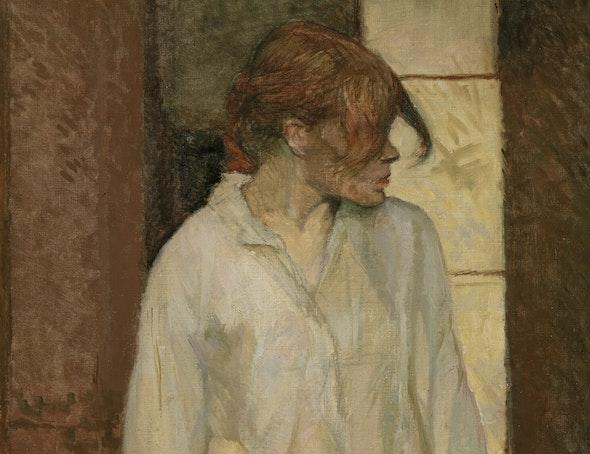 <p><em>A-Montrouge-Rosa La Rouge</em> by Toulouse-Lautrec</p>