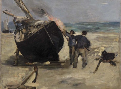 In Focus Gallery Talk: Manet's <i>Tarring the Boat</i>