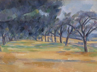 In Focus Gallery Talk: Cézanne's <i>The Allée at Marines</i>