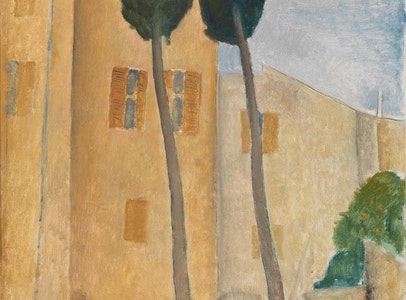 In Focus Gallery Talk: Modigliani's <i>Cypresses and Houses at Cagnes</i>