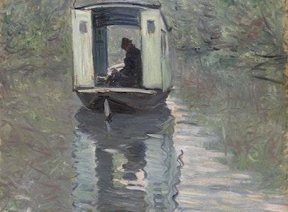 In Focus Gallery Talk: Monet's <i>Studio Boat</i>