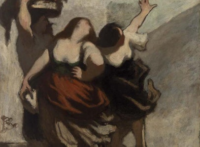In Focus Gallery Talk: Daumier's <i>The Ribalds</i>