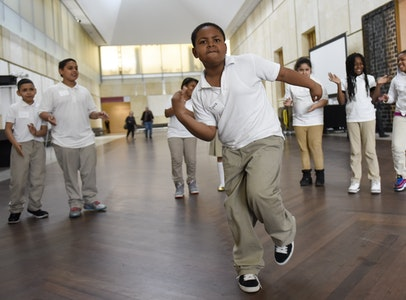 Building on the Barnes Philosophy: Experiential Learning through Dance and Art