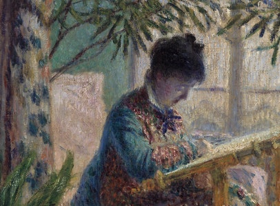 In Focus Gallery Talk: Monet's <i>Madame Monet Embroidering</i>