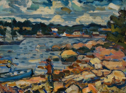 In Focus Gallery Talk: Prendergast's <i>Brooksville, Maine (River & Rocks)</i>