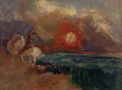 In Focus Gallery Talk: Redon's <i>Saint George and the Dragon</i>