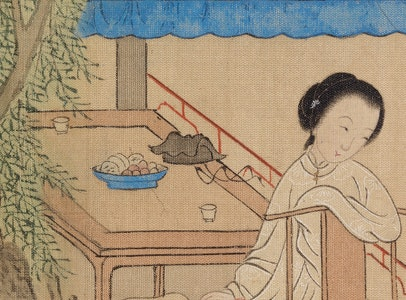 In Focus Gallery Talk: Ying's <i>Seated Girl on Porch</i>