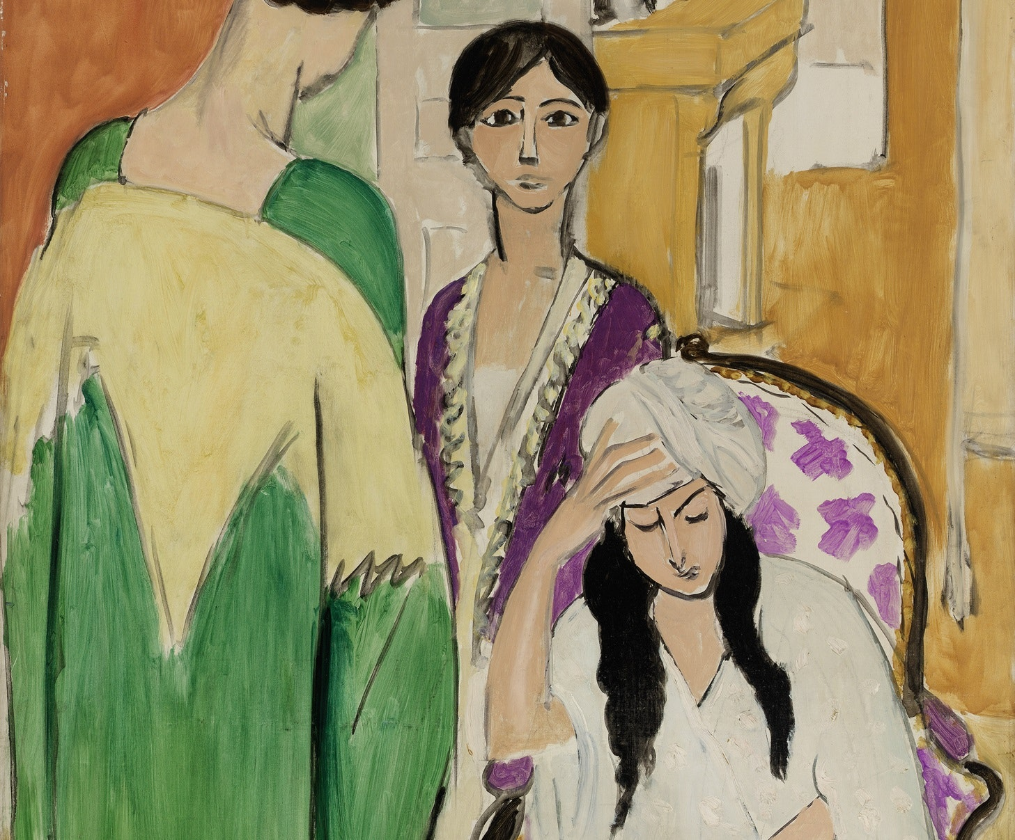 In Focus Gallery Talk: Matisse's <i>Three Sisters with an African Sculpture</i>