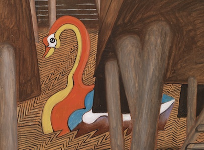 In Focus Gallery Talk: <br>de Chirico's <i>The Mysterious Swan</i>