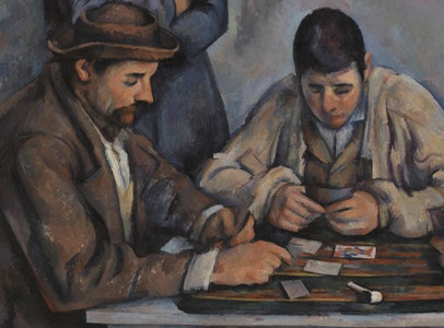 Cézanne's <i>Card Players</i> in Focus