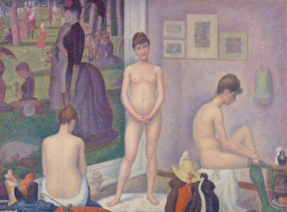 Seurat's <i>Models</i>: The Artist's Studio as Metaphor