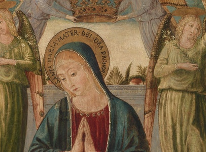 In Focus Gallery Talk: Gozzoli's <i>Madonna and Child with Angels</i>