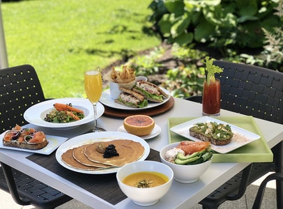 Summer Sundays at the Garden Restaurant