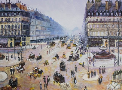 Building the City of Light: Impressionism in Haussmann's Paris