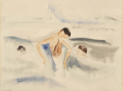 In Focus Gallery Talk: Demuth's <i>Three Figures in Water</i>