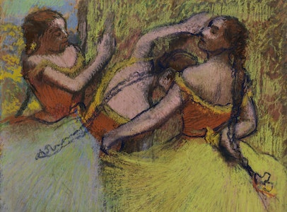 In Focus Gallery Talk: Degas's <i>Three Dancers with Hair in Braids</i>